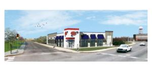 Proposed AAA Columbus Avenue Store